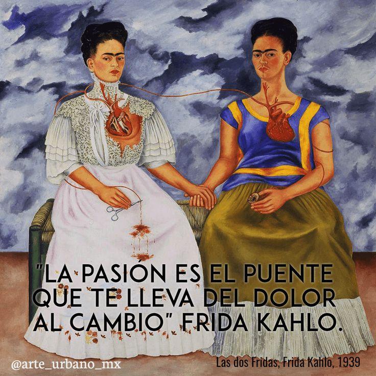 """Frida Kahlo la artista mexicana con más relevancia nivel mundial     """"La pasión es el puente que te lleva del dolor al cambio""""  Síguenos también en:   Instagram: https://www.instagram.com/arte_urbano_mx  Facebook: https://www.facebook.com/arteurbanomx"""