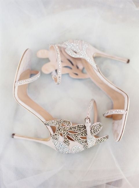 Rose Gold Wedding Shoes | Jessica Burke Photography | http://heyweddinglady.com/metallic-bohemian-wedding-ideas-coral-copper