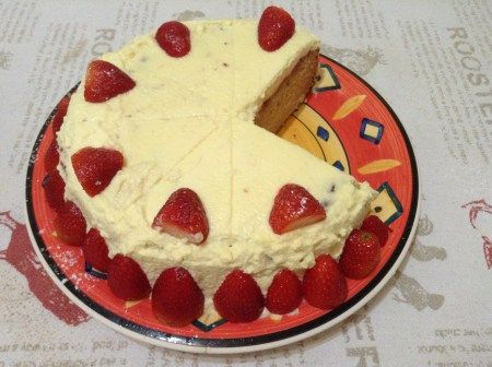 Eggless condense milk cake