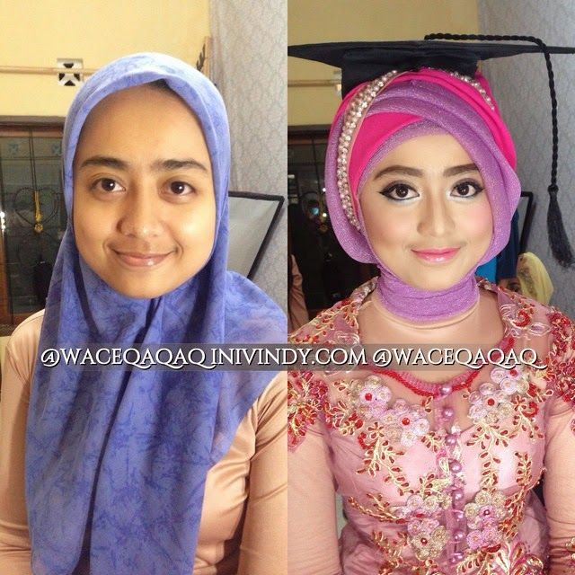 My Make Up Makeover and Hijabstyle Untuk Wisuda