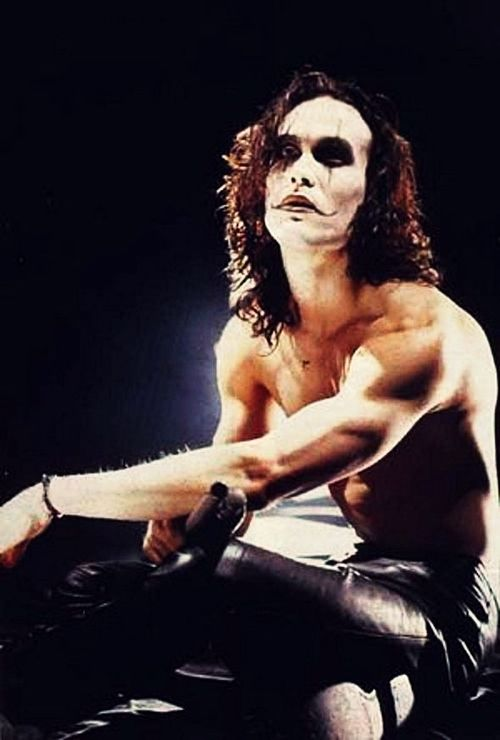 Brandon Lee in The Crow. So talented. Such a huge loss