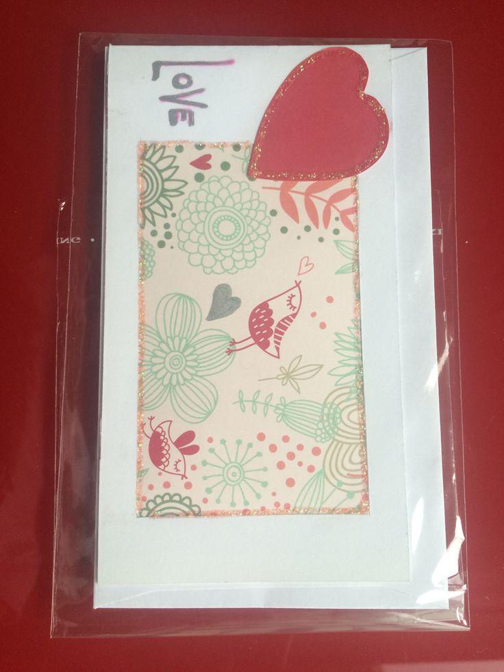 Scrap paper Glitter Serie love