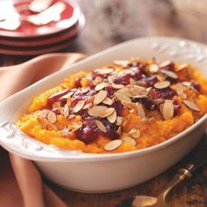 Cranberry Squash Casserole
