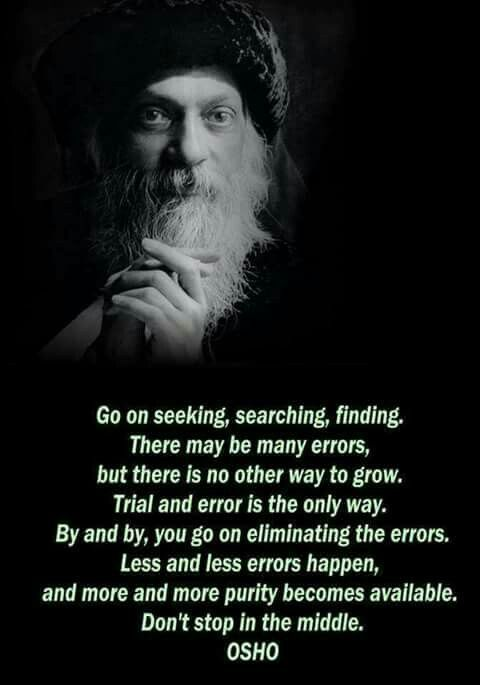 Go on seeking