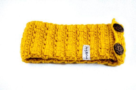 The Headband Pattern  children's headband  crochet by joyofmotion