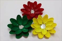Diwali Diya Decoration From Plastic Spoons to Adds an Extra Spark – Jackie Stege…