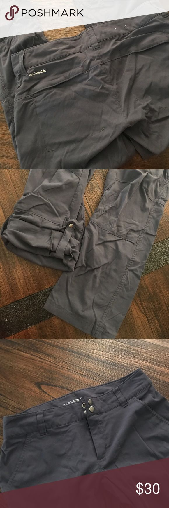 Columbia omnishield cargo pants Softest breathable material can be rolled up and hooked to be capri size 8 short brand new just wrinkled from being stored away 🤷♀️ Columbia Pants Track Pants & Joggers