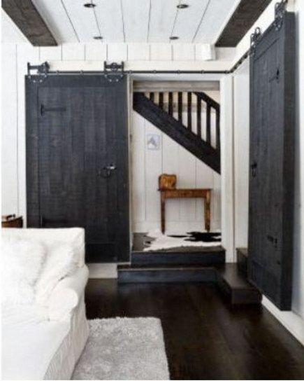 Interior barn doors track door design and breezeway for Track doors interior