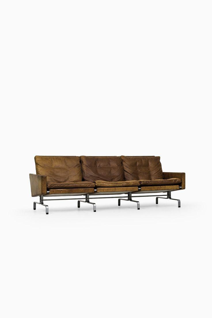 Poul Kjærholm PK-31/3 sofa at Studio Schalling