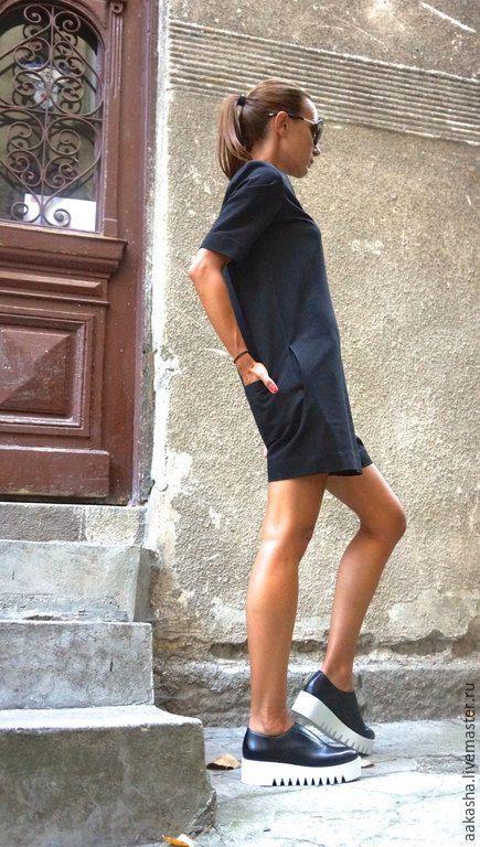 Купить Комбинезон Zipper Black - черный, комбинезон, черный цвет, комбинезон женский, комплет, шорты