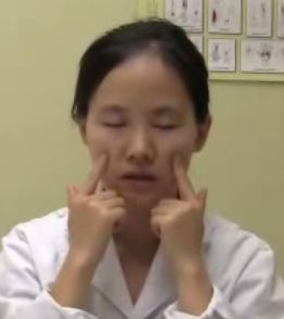 Press these two points just below the cheek bone to invigorate tired eyes.  Sore, Tired Computer Eyes? These Chinese Massage Techniques Will Help http://www.visiontimes.com/2015/08/28/sore-tired-computer-eyes-these-chinese-massage-techniques-will-help.html