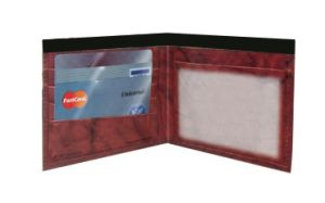 Wallet mailer is a great direct mail piece.  Only takes 1 first class stamp.  www.wallet-mailer.com