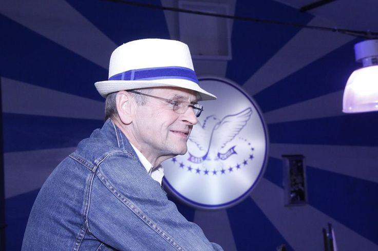 Mikhail Baryshnikov na quadra da Portela - 07/08/2014