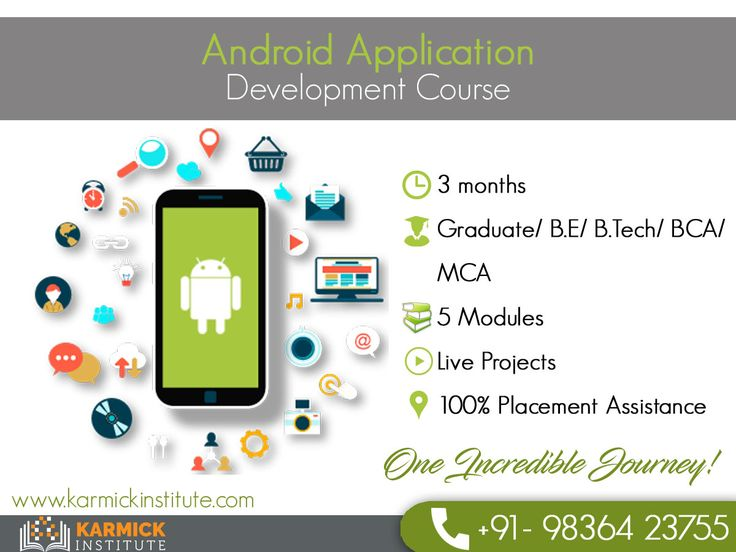Android apps are in high demand right now. Become a certified #Android #App Developer and explore the IT industry. Call: +91-9836423755