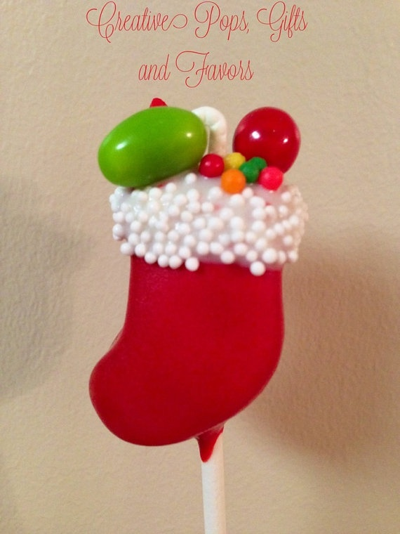 Christmas Cake Pops / Foodimentary Find