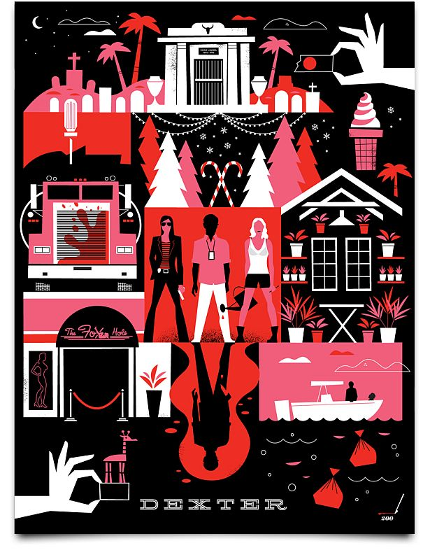 Dexter Daily. Dexter Season 7 Poster De Ty Mattson   – Illustration & Art