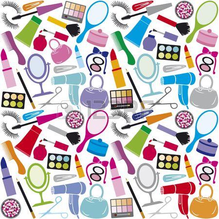 tworz t o tworz zbi r kolekcji bez szwu wz r urody i kosmetyki do makija u produkty kosmetyczne usta Zdjęcie Seryjne