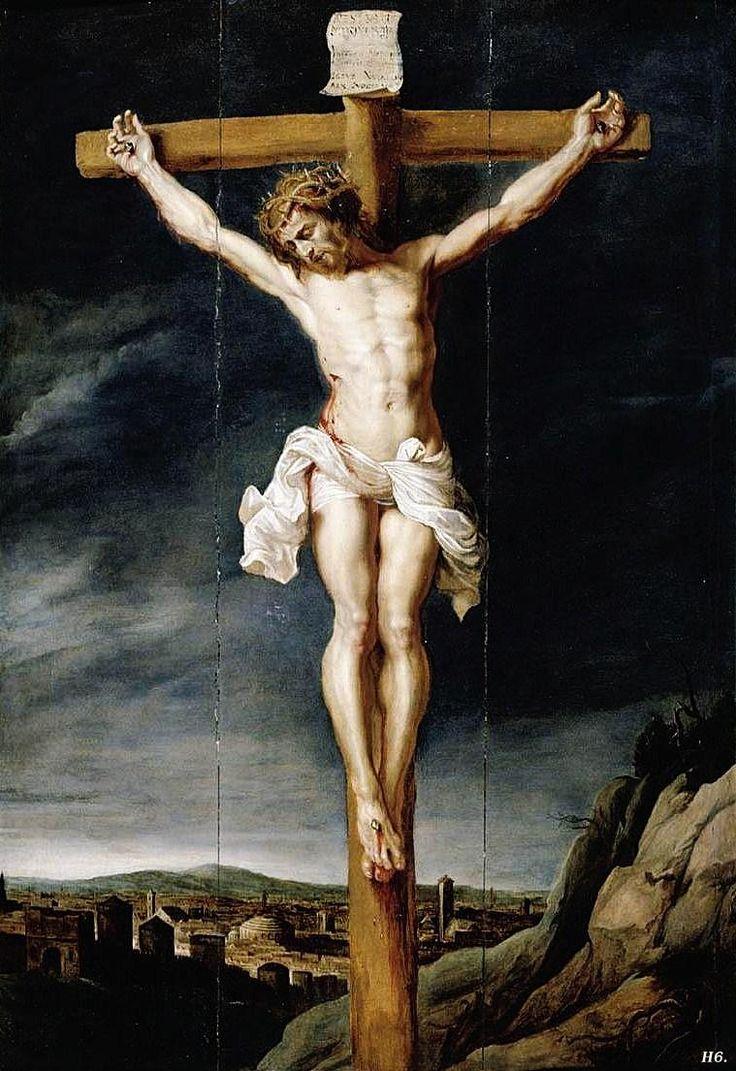 Christ on the cross. Jan Boeckhorst. German. 1604-1668.