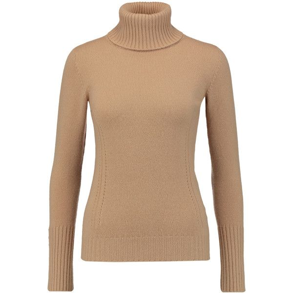 Agnona Cashmere turtleneck sweater (22.400 RUB) ❤ liked on Polyvore featuring tops, sweaters, sand, turtle neck sweater, cashmere tops, turtleneck sweater, beige top and turtleneck top