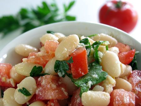 White Beans and Cherry Tomato Salad Recipe
