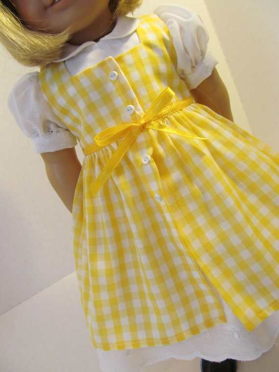 Eyelet Vintage Style  Dress for American Girl by fashioned4you, $22.00