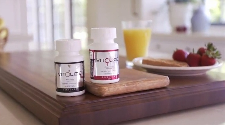 New vitality supplement for men and women from Forever Living Products: Vitolize