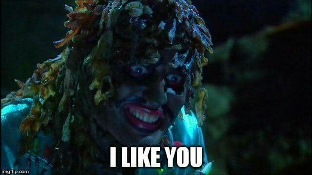 When you tell your crush you like them but your inner Old Gregg does the talking!