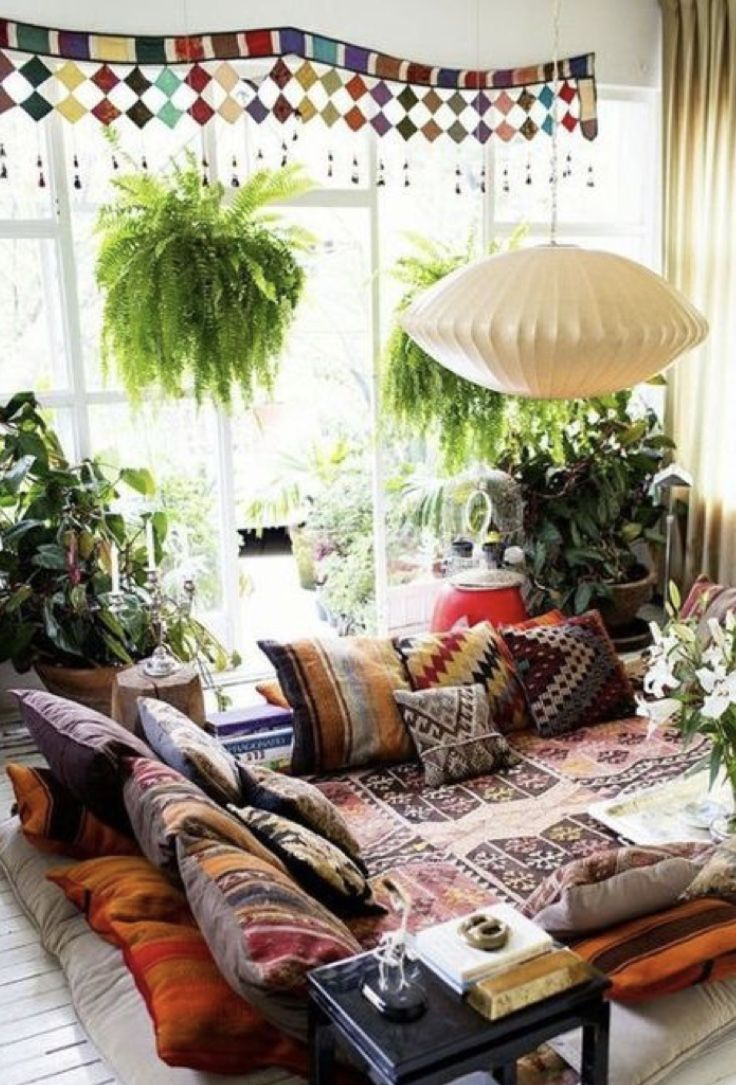 Floor Seating Ideas Design Decor Travel Bohemian Living Rooms Boho Room Chic Living Room