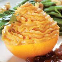 Orange Sweet Potatoes With Pumpkin Butter #HEBHolidayMeal