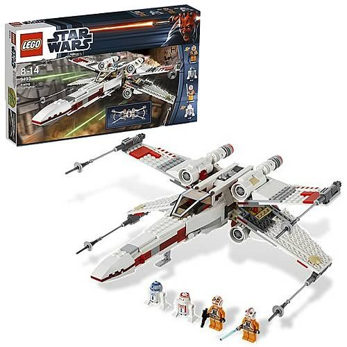 LEGO Star Wars 9493 X-Wing Starfighter.  just built this, cool how it goes together.