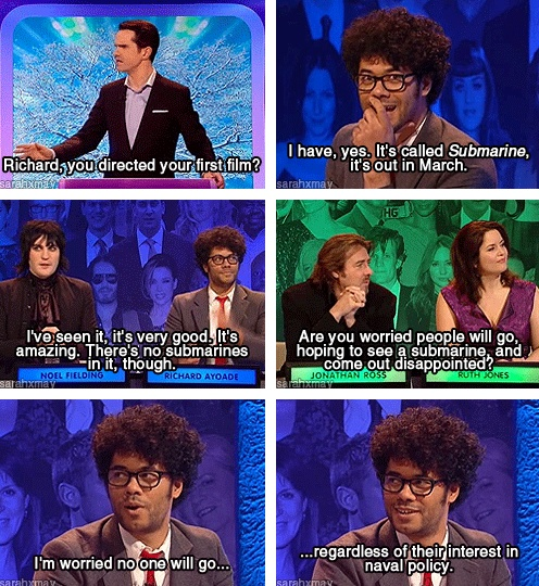 Richard Ayoade // Big Fat Quiz of the Year