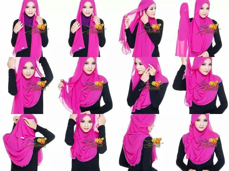 Tutorial Hijab Terbaru Yang Modis