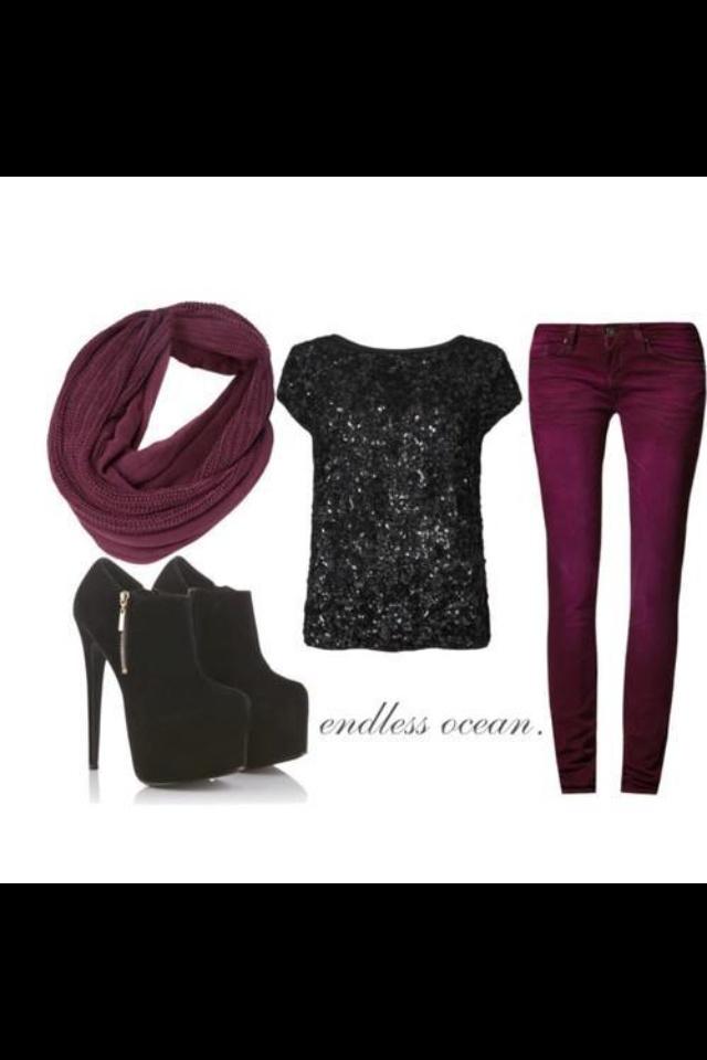 Purple looks