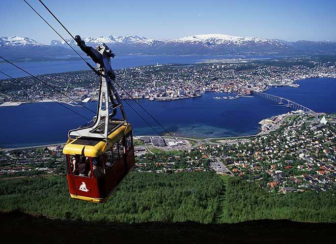 Fjellheisen in Tromso - Norway