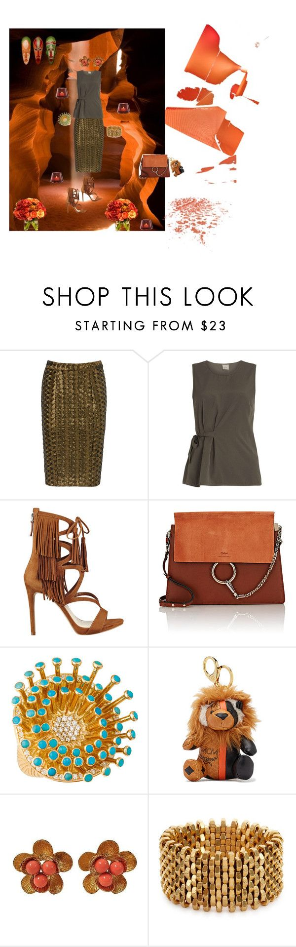 """""""Blend"""" by studiodinteriors on Polyvore featuring 3.1 Phillip Lim, Hunter Bell, Dorothy Perkins, GUESS, Chloé, Christina Debs, MCM, Alice Menter, Diane James and Baccarat"""