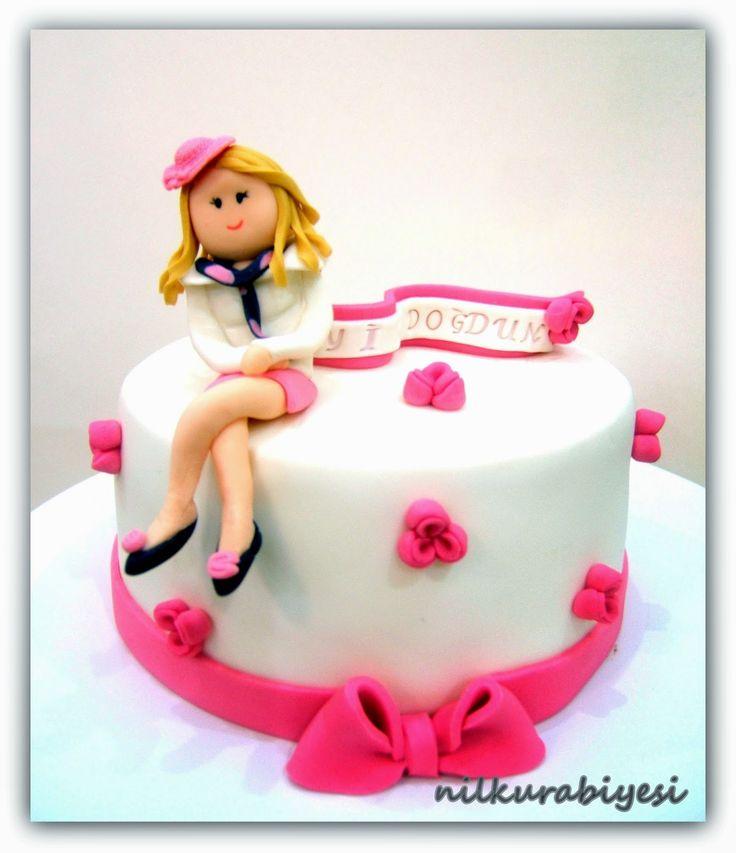 Nil Kurabiyesi - Tekirdağ Butik Kurabiye: doğum günü pasta ve kurabiye 'Pretty woman''