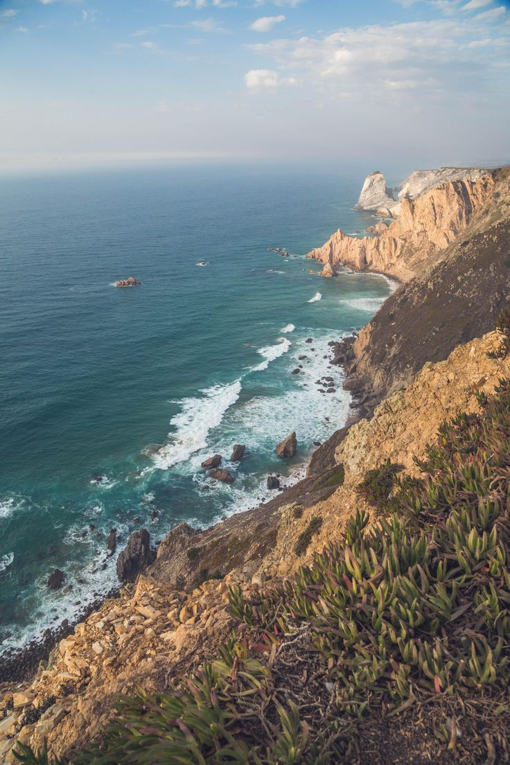 Cabo da Roca - westernmost part of continental Europe [OC](3648x5472) http://ift.tt/2hMvMQh