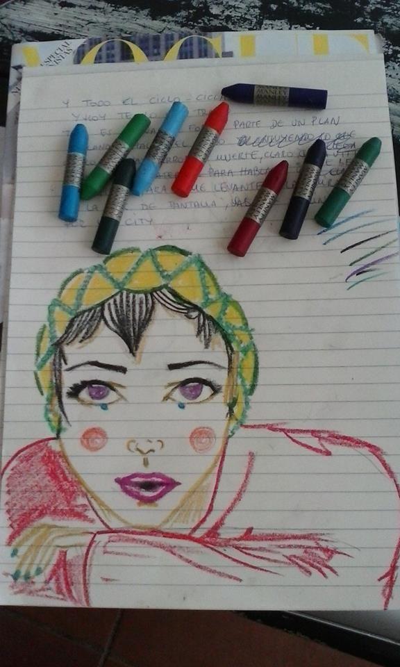 Manley wax crayons