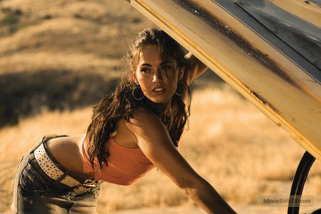 Transformers publicity still of Megan Fox