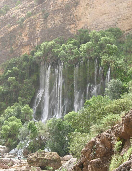 Lorestan - Shooy Waterfall