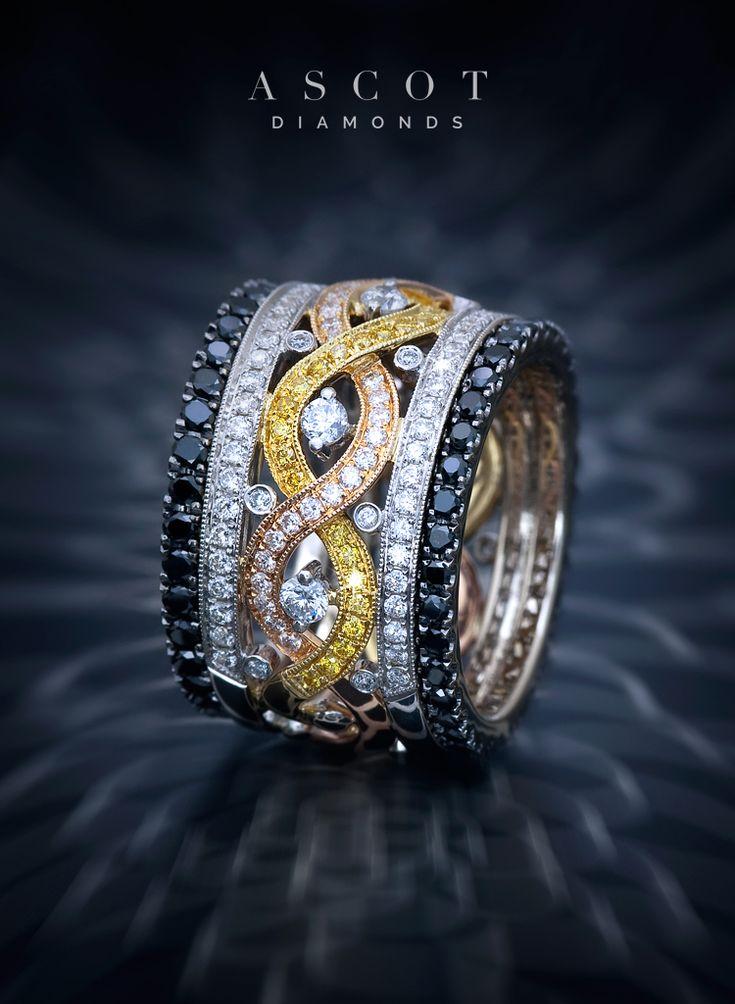 87 Best Wedding Amp Anniversary Rings Images On Pinterest