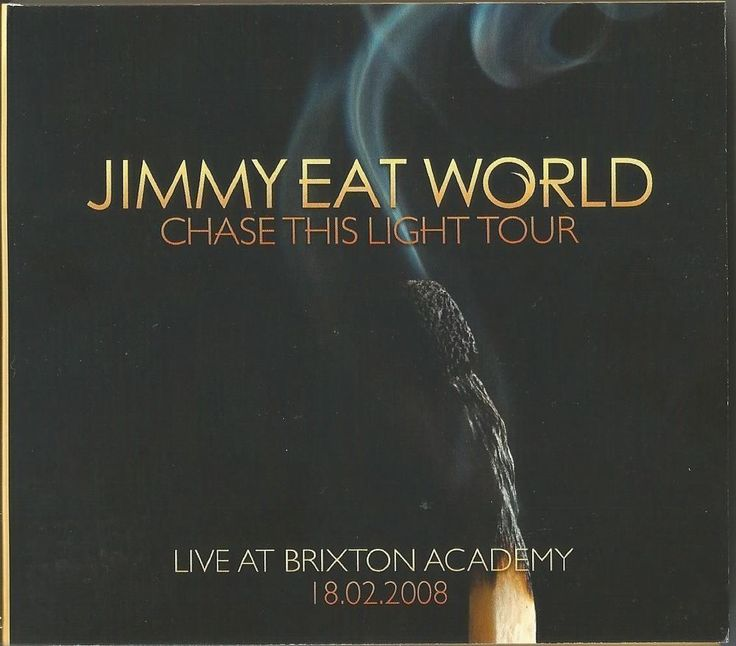 JIMMY EAT WORLD - Live At Brixton Academy CD x2 Chase The Light Tour