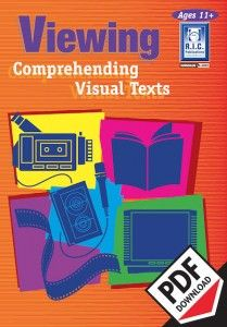 Developing an understanding of visual text. Viewing involves making meaning from visual texts, which are a major form of communication, information and entertainment. Viewing activities help students to develop an understanding of codes and conventions and their influence on us. Ebook PDF