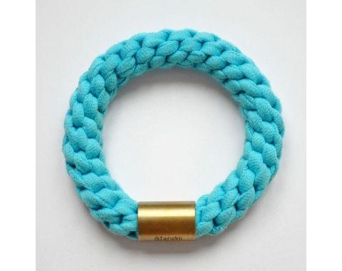 Bransoletka RING C MOSIĄDZ błękitna