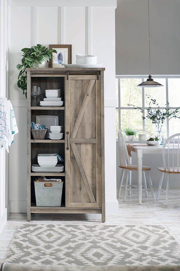Great Bathroom Storage Cabinet With Built In Hamper Just On Homesable Home D Farmhouse Storage Cabinets Rustic Living Room Furniture Modern Farmhouse Furniture