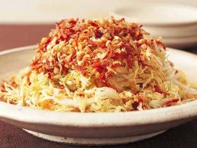 白菜のパリパリサラダレシピ 講師は陳 建一さん|使える料理レシピ集 みんなのきょうの料理 NHKエデュケーショナル