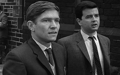 Tom Courtenay and Rodney Bewes in Billy Liar