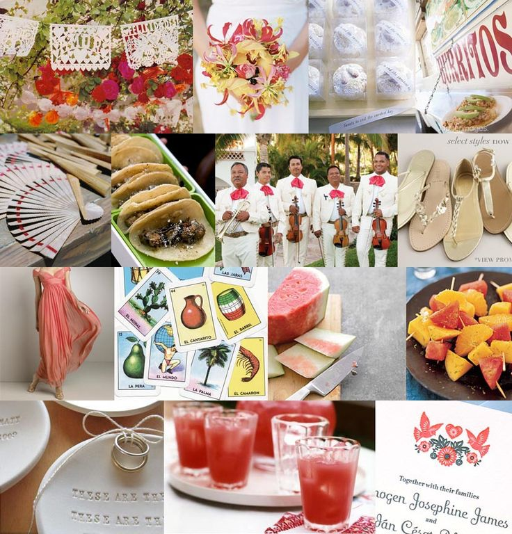 Mexican Themed Wedding Reception: Mexican Wedding Theme