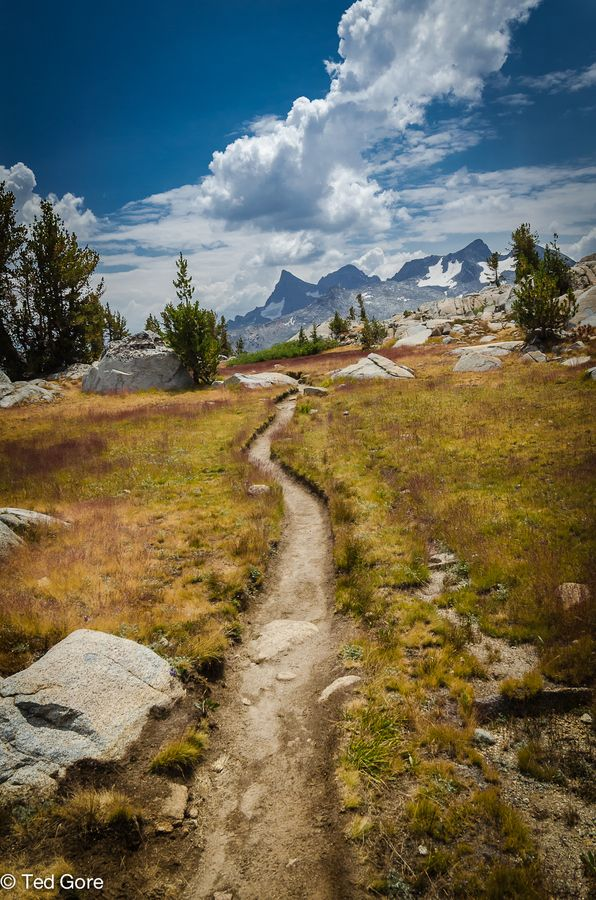 """John Muir Trail, California. My favorite trail ever. 220 miles of pure bliss."""