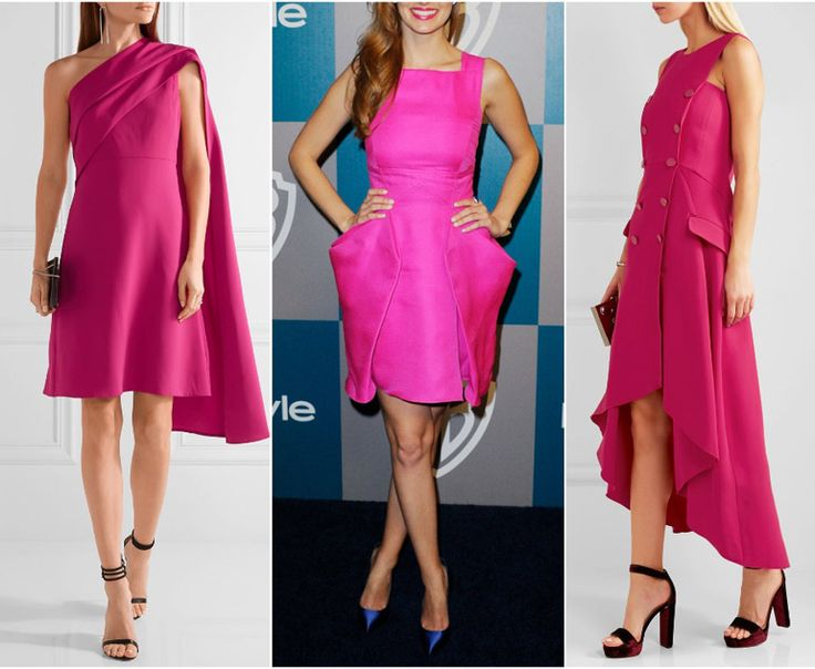 Have a hot pink, fuchsia or magenta dress? Learn what are the best color shoes to wear with a hot pink dress from shoe-tease.com